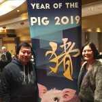 2019 year of the pig banner in winnipeg canada