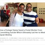 Meiko S Patton with Oprah Winfrey