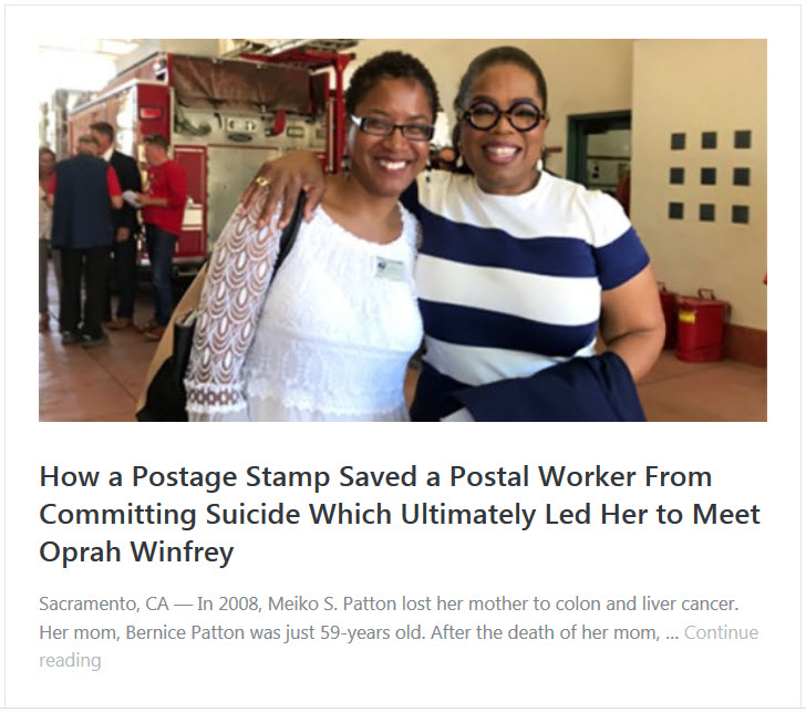Meiko S Patton Oprah Winfrey